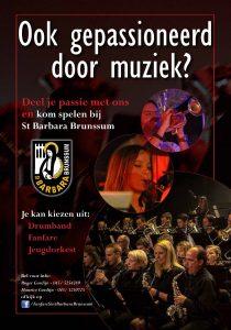 Werving-en-opleiding-Fanfare Sint Barbara, Brunssum